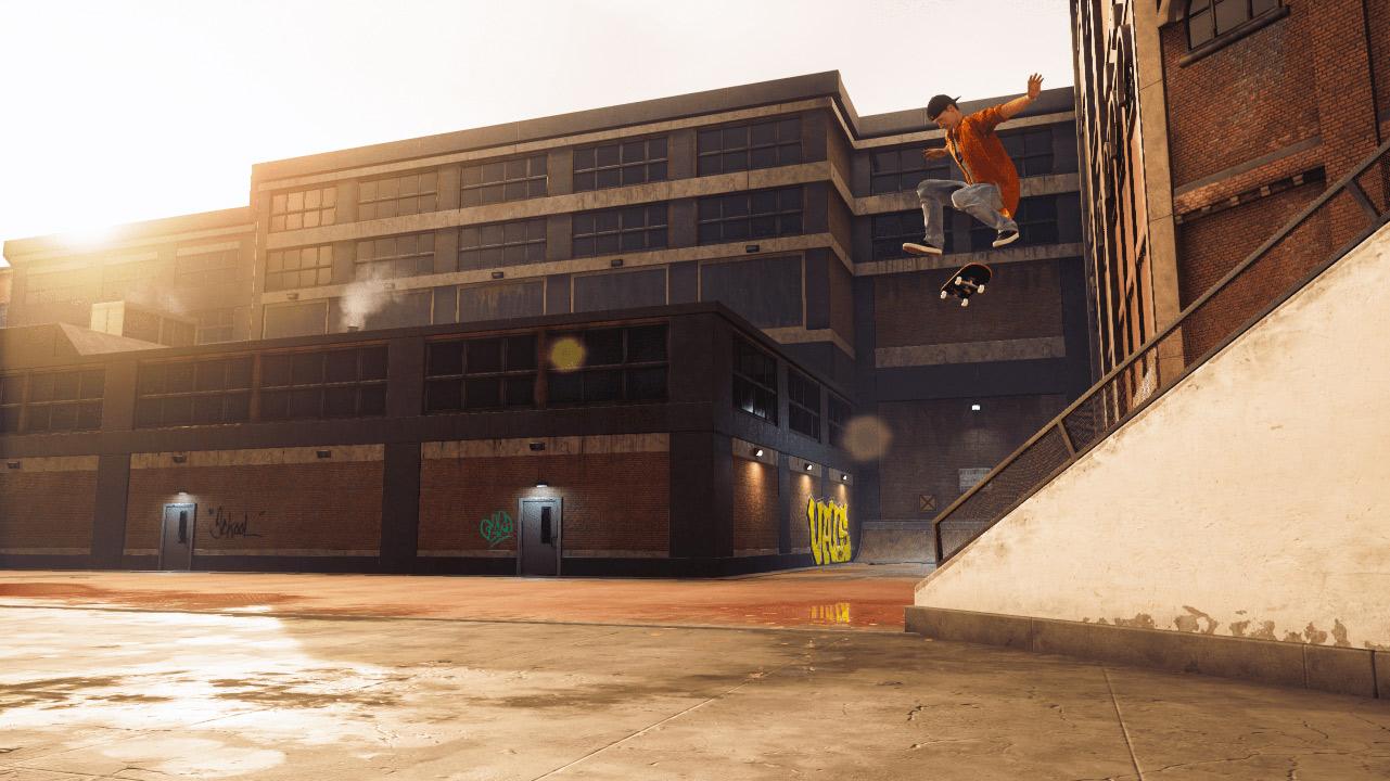 Shane O'Neill als virtueller Skater