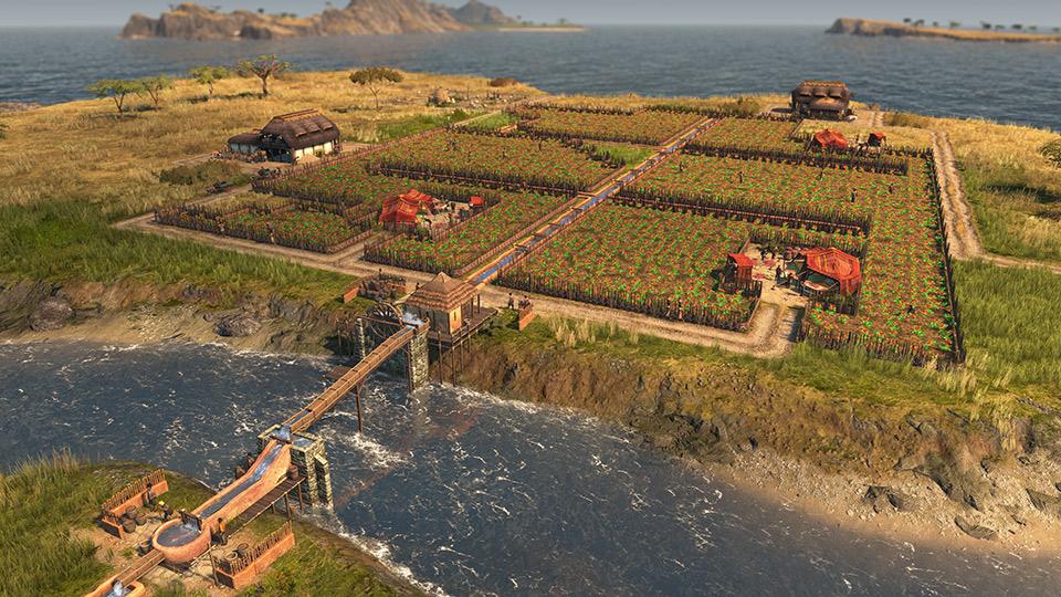 Teeplantagen in Anno 1800 - Land of Lions