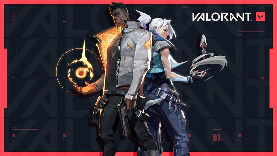 Jett und Phoenix von VALORANT