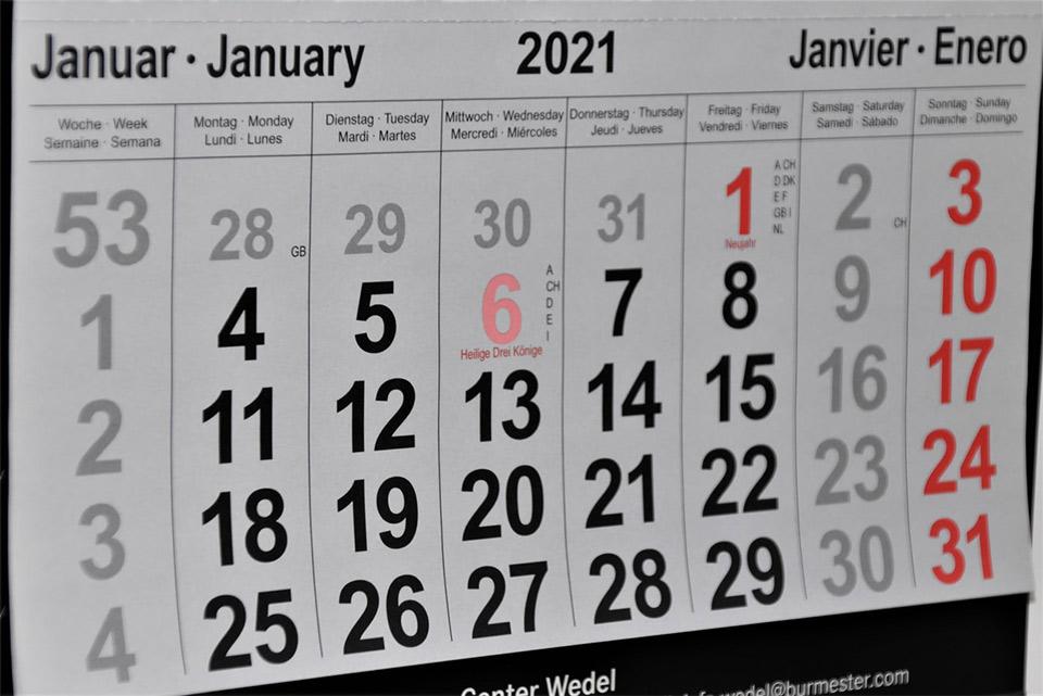 Der Januar ist typisch für neue Vorsätze