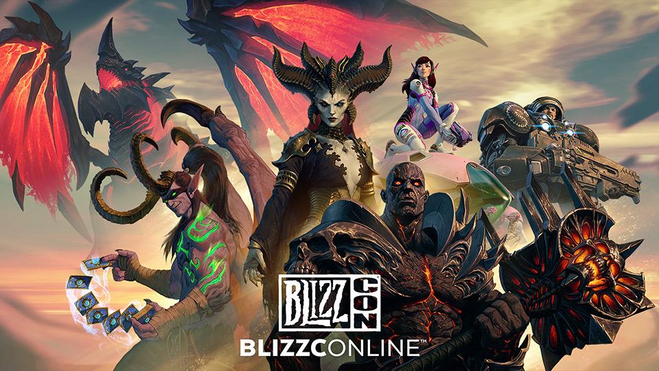 Helden und Feinde verschiedener Blizzard-Games
