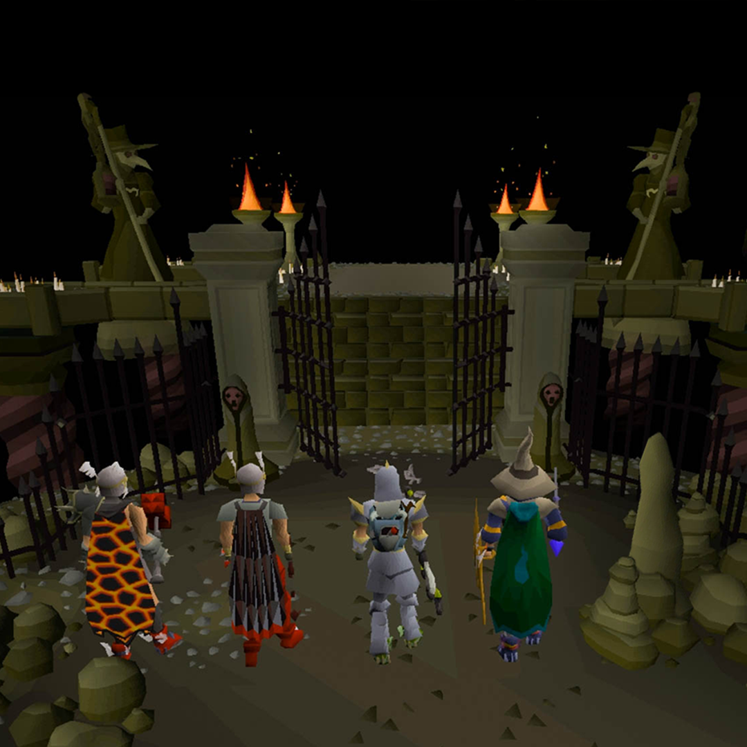 Eine Party in Runescape Old School