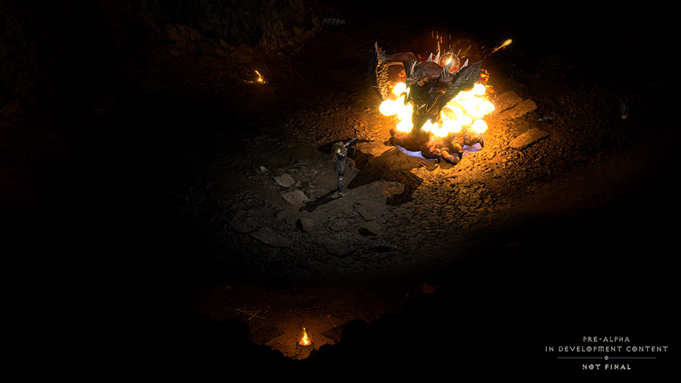 Kampf gegen Duriel in Diablo II