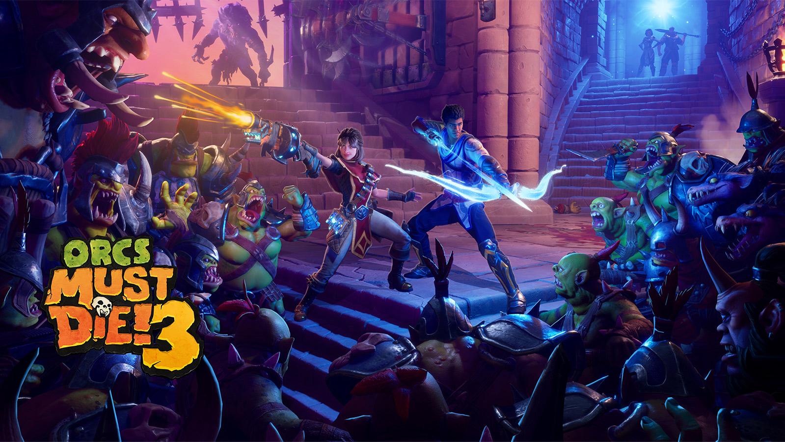 Orcs Must Die! 3 Key Art mit Logo